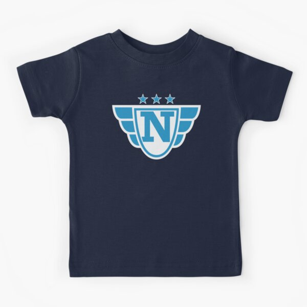 Copy of Superhero Letter N. Stars and Wings Kids T-Shirt