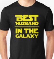 Best Husband in the Galaxy Unisex T-Shirt