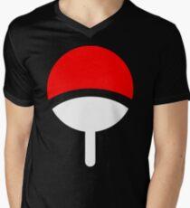Uchiha Clan symbol Men's V-Neck T-Shirt