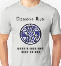 SuperWHO - Demons Run T-Shirt