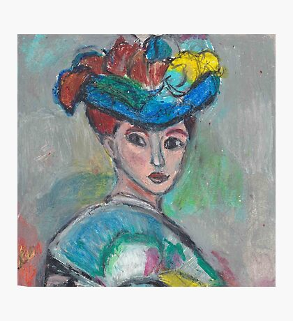The Woman With The Hat(After Matisse) Photographic Print