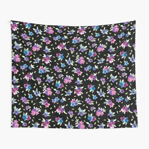 Painterly Floral Ditsy Print Tapestry