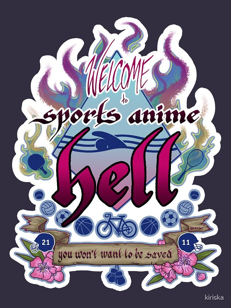 «Sports Anime Hell» par kiriska