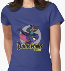 Darkwing Duck Womens Fitted T-Shirt