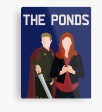 The Ponds Metal Print