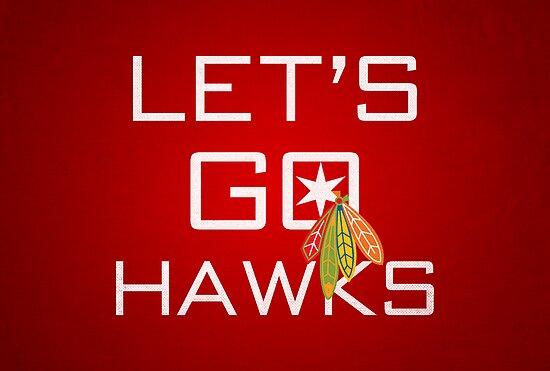 Let's Go Hawks von fohkat