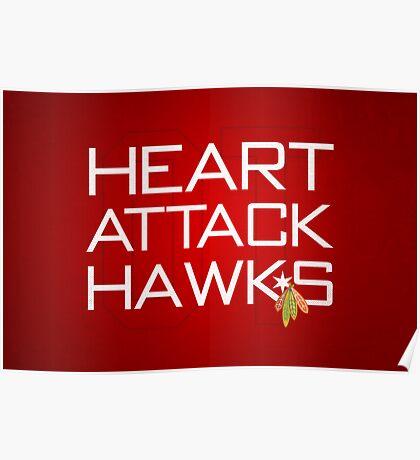Heart Attack Hawks Poster