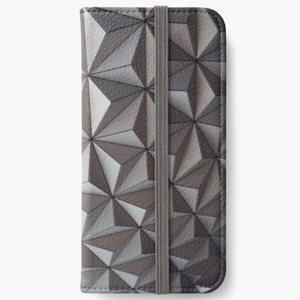 Spaceship Earth iPhone Wallet