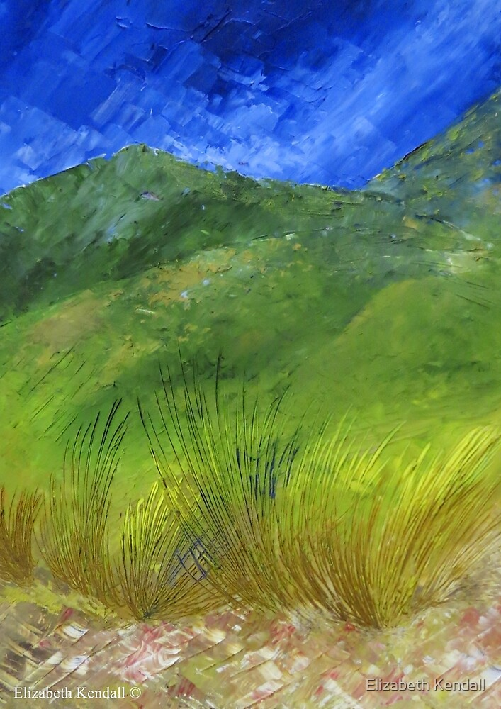 The green hills of my homeland by Elizabeth Kendall