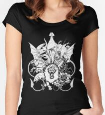 The Great Houses Women's Fitted Scoop T-Shirt