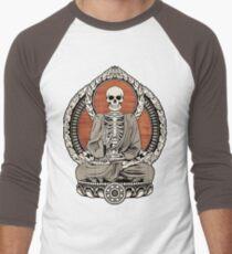 Skeleton Buddha Men's Baseball ¾ T-Shirt