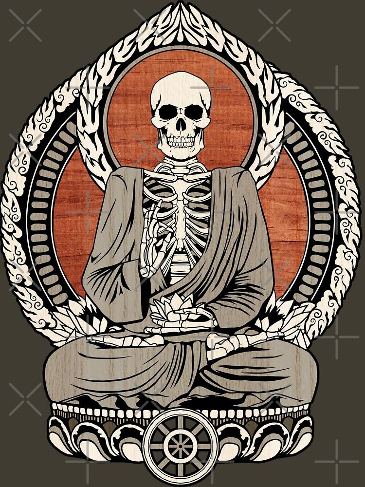 Skelett Buddha von GrizzlyGaz
