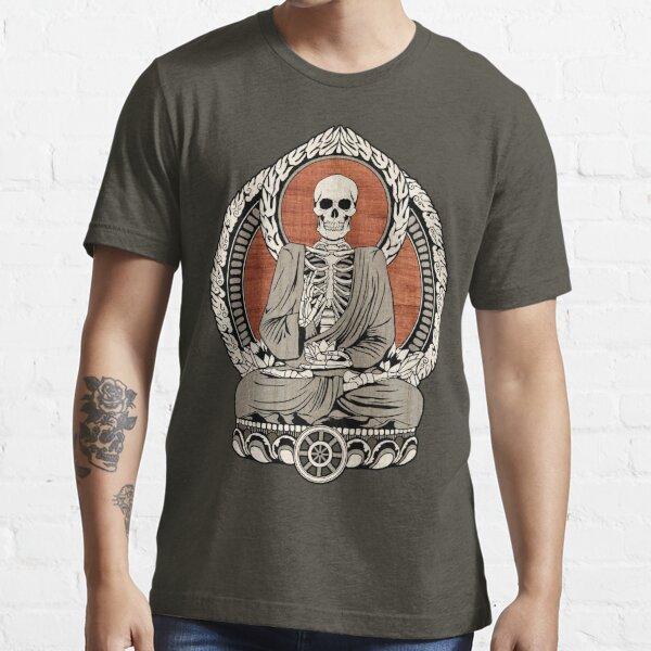 Buda esqueleto Camiseta esencial