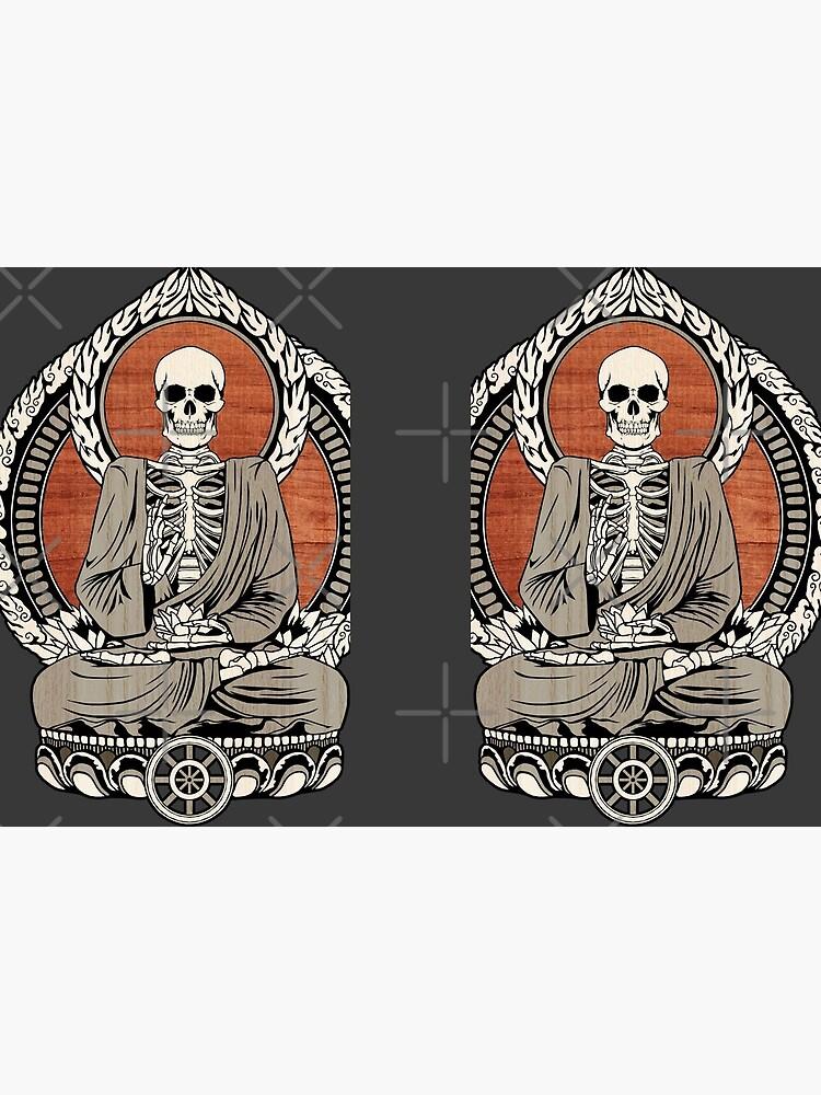Skeleton Buddha by GrizzlyGaz