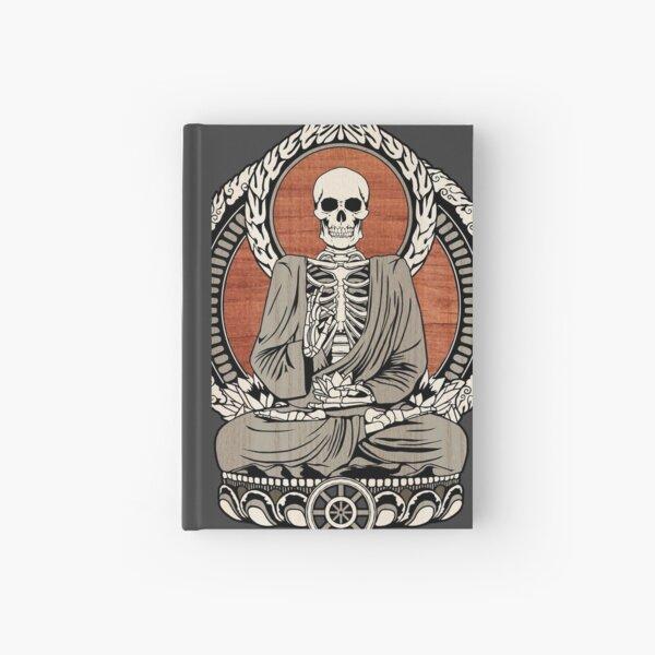 Skeleton Buddha Hardcover Journal