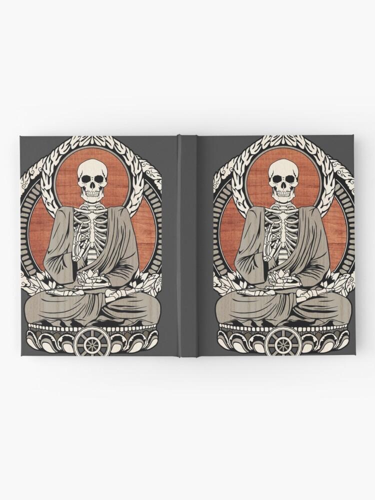 Alternate view of Skeleton Buddha Hardcover Journal
