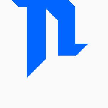 Logo #1 Blue by iBDriz