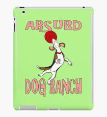 Absurd Dog Ranch Logo iPad Case/Skin
