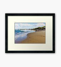 Maroochydore Beach Framed Print