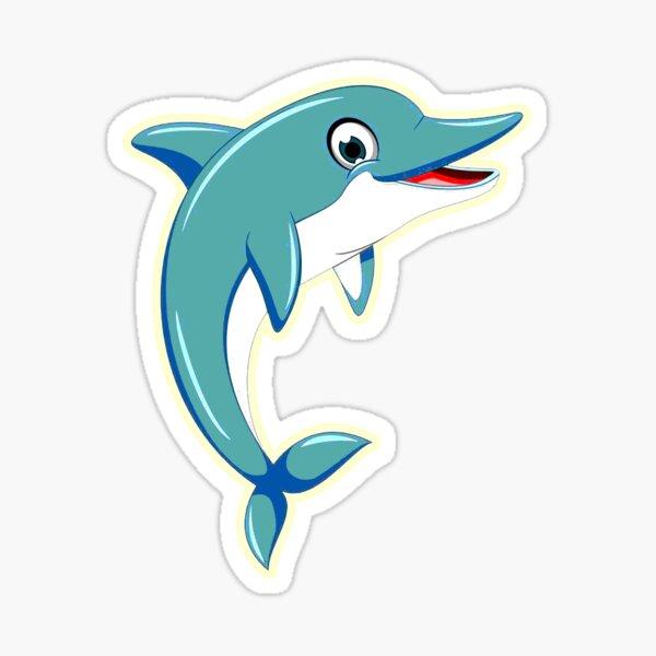 I love Dolphin Sticker