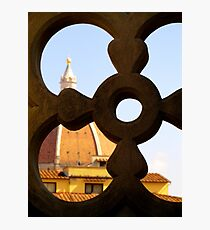 Looking through the Duomo Photographic Print