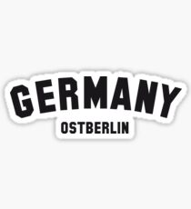 GERMANY OSTBERLIN Sticker