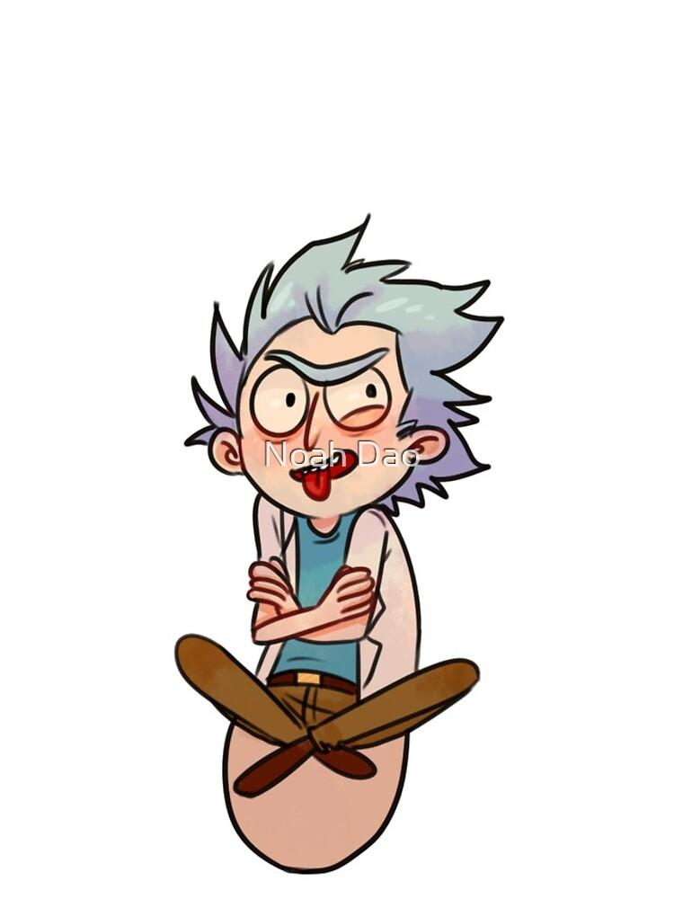 Tiny Rick by delphyxion
