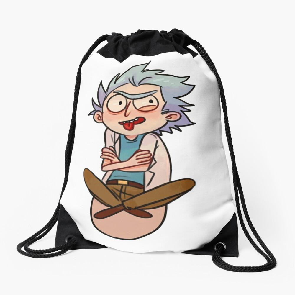 Tiny Rick Drawstring Bag