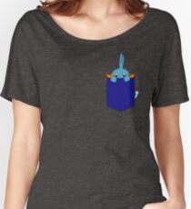 Mudkip in my Pocket Women's Relaxed Fit T-Shirt