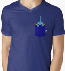 Mudkip in my Pocket Men's V-Neck T-Shirt