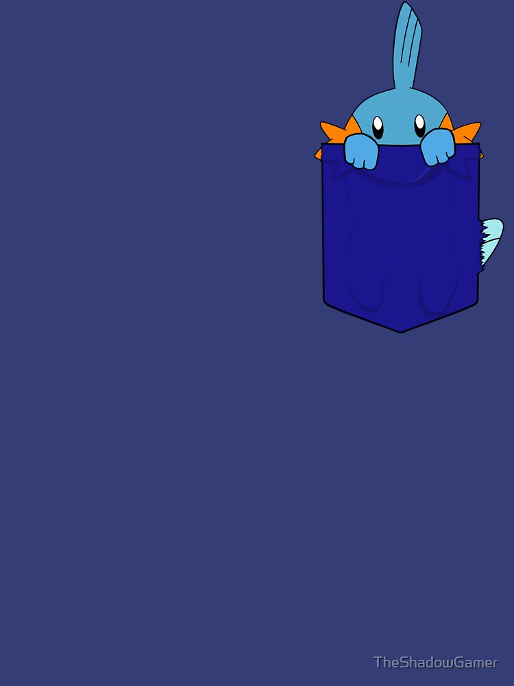 Mudkip in my Pocket by TheShadowGamer