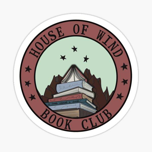 House of Wind Book club - ACOSF fanart Sticker