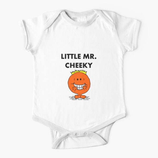 Mr Cheeky Short Sleeve Baby One-Piece