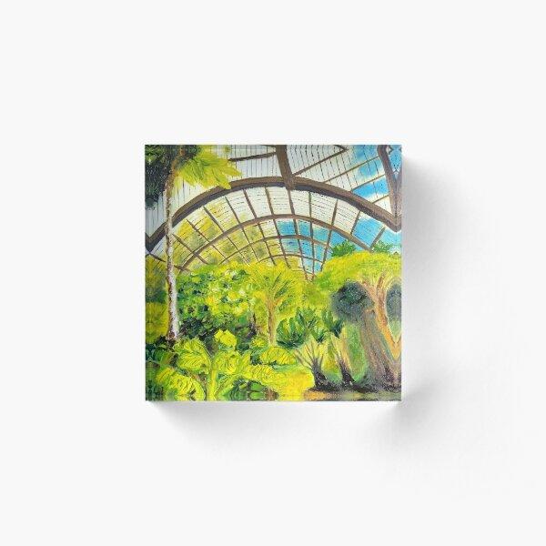 Botanical Painting Acrylic Block
