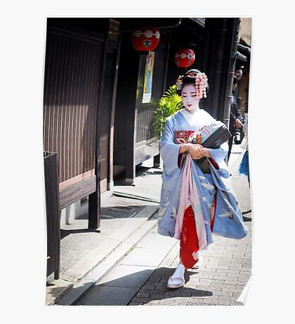 Walking in the Gion Poster