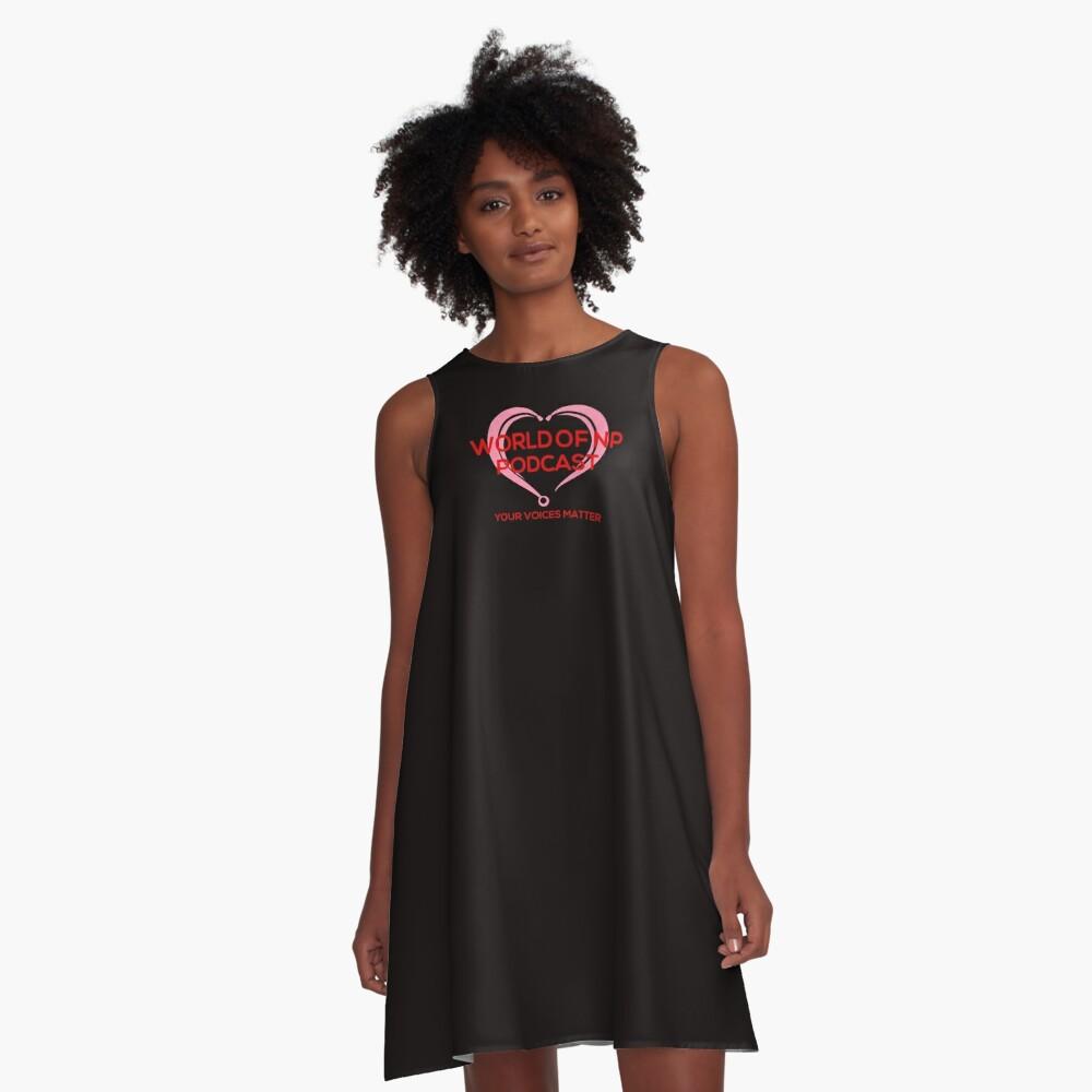 World Of Nurse Practitioner Podcast A-Line Dress