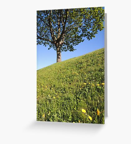 Happy Inclination Greeting Card
