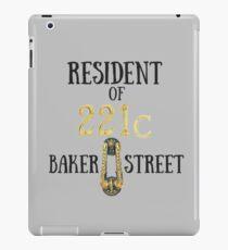 Resident of 221C Baker Street iPad Case/Skin