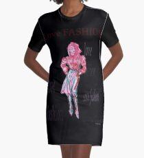 Fashion model  Graphic T-Shirt Dress