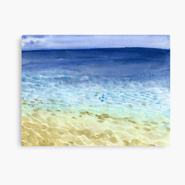 Tropical Seaside Impression sur toile