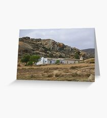 Farmstead near Rietpoort Northern Cape Greeting Card