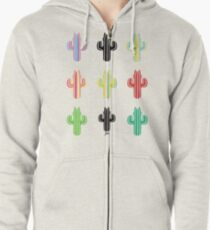 Catctus Space Zipped Hoodie