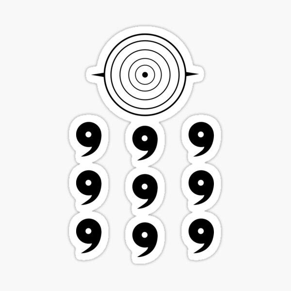 Der Weise der sechs Pfade Tomoe Sticker