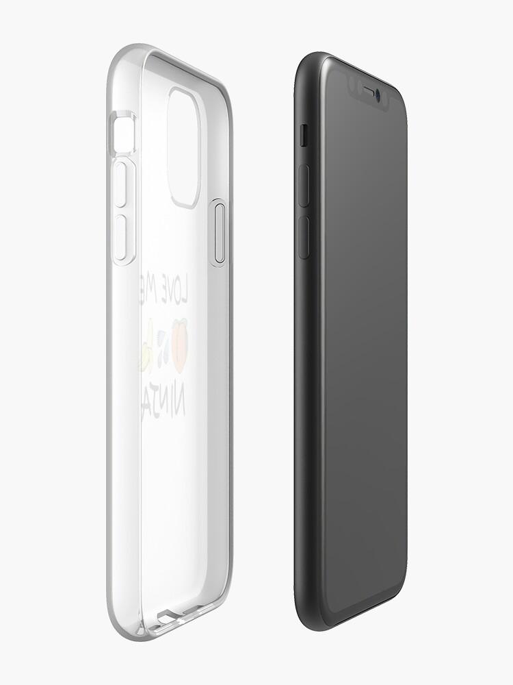 Coque iPhone «Aimez-moi Ninja», par milkbottle