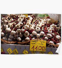 Cloves Of Garlic Poster