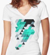 Mynt Women's Fitted V-Neck T-Shirt