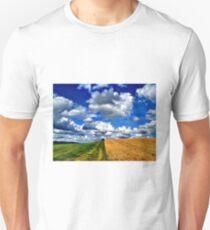 Harvest Time, Northern Ireland Unisex T-Shirt