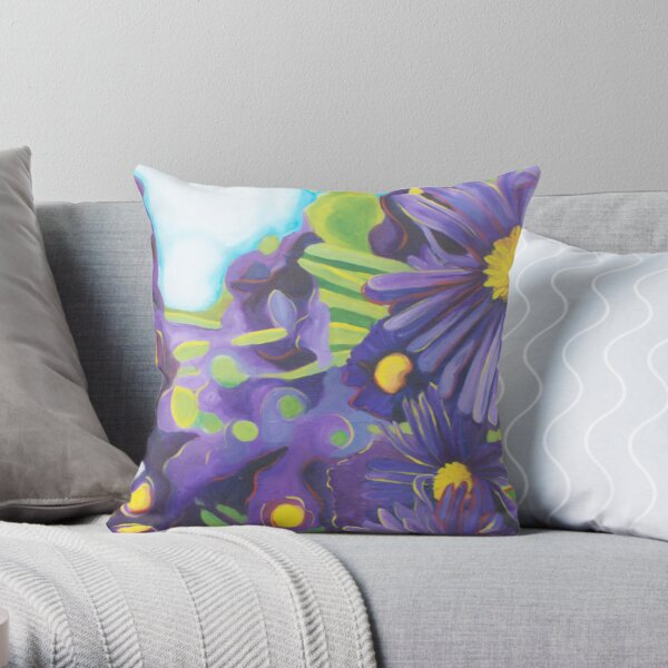 Garden Stroll Throw Pillow