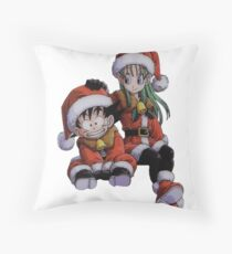 dbz Throw Pillow