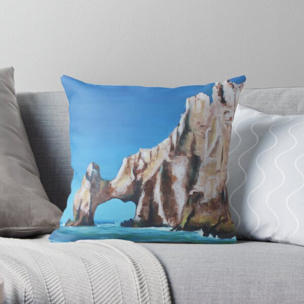 Cabo San Lucas Throw Pillow